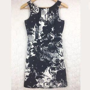 Ann Taylor Petites Silk Blend Floral Dress